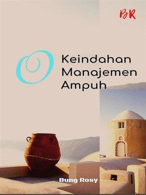 cover image of keindahan manajemen ampuh
