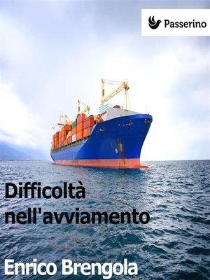 cover image of Difficoltà nell'avviamento