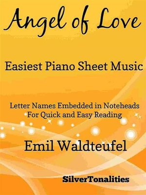 cover image of Angel of Love Easiest Piano Sheet Music