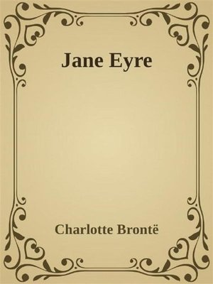 cover image of - Jane Eyre -