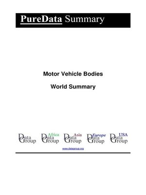 cover image of Motor Vehicle Bodies World Summary