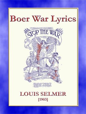 cover image of BOER WAR LYRICS--Battlefield Poetry from the Boer Wars