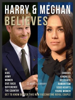 cover image of Harry & Meghan Believes--Prince Harry and Meghan Quotes