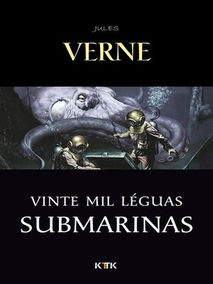 cover image of Vinte Mil Léguas Submarinas