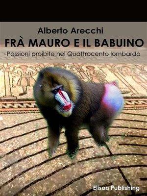 cover image of Frà Mauro e il babuino