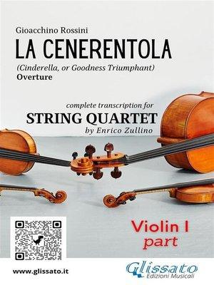cover image of La Cenerentola (overture) String Quartet--Set of parts