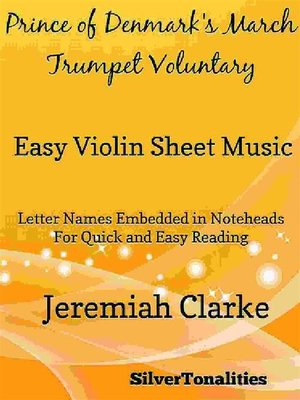 cover image of Prince of Denmark's March Trumpet Voluntary Easy Violin Sheet Music