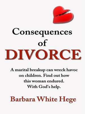 cover image of Consequences of Divorce
