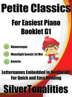 cover image of Petite Classics for Easiest Piano Booklet G1