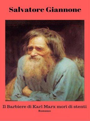 cover image of Il barbiere di Karl Marx morì di stenti