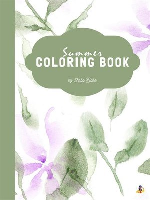 cover image of Summer Coloring Book for Teens (Printable Version)