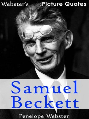 cover image of Webster's Samuel Beckett Picture Quotes
