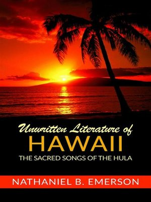 cover image of Unwritten Literature of Hawaii