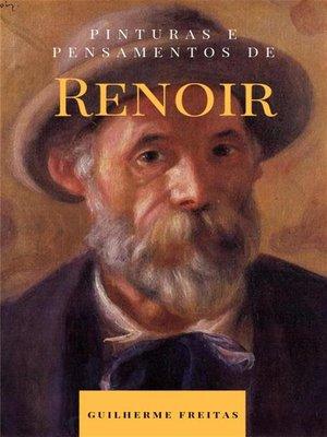 cover image of Pinturas e pensamentos de Renoir
