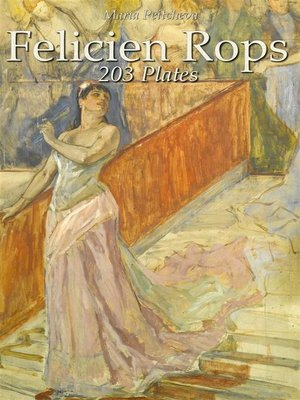 cover image of Felicien Rops--203 Plates