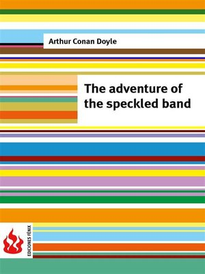 cover image of The adventure of the speckled band (low cost). Limited edition