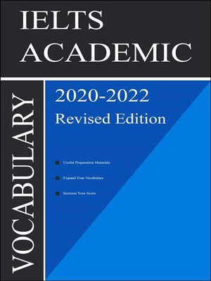 cover image of IELTS Academic Vocabulary 2020 Revised Edition