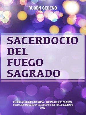 cover image of Sacerdocio del Fuego Sagrado