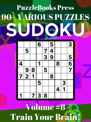 cover image of PuzzleBooks Press Sudoku – Volume 8
