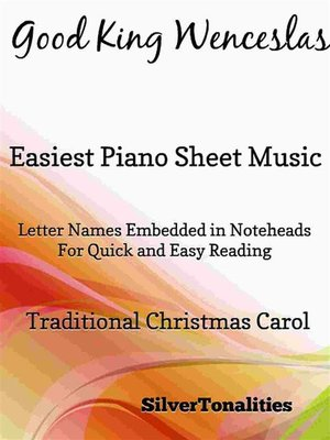 cover image of Good King Wenceslas Easiest Piano Sheet Music