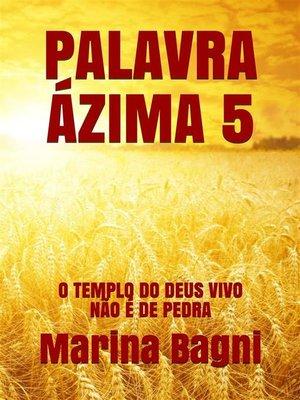 cover image of Palavra Ázima 5