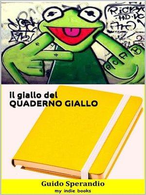cover image of Il giallo del quaderno giallo