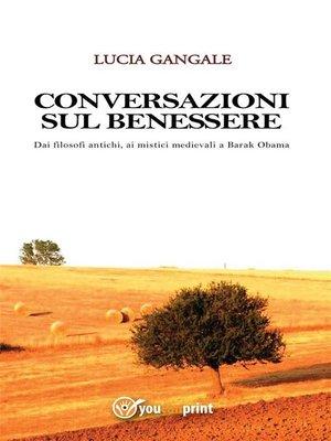 cover image of Conversazioni sul benessere