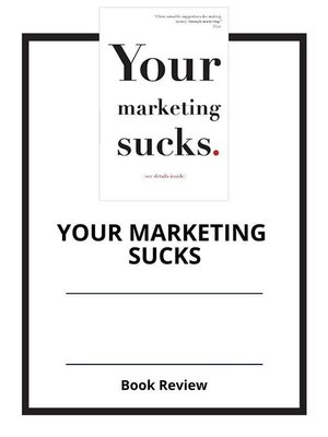cover image of Your Marketing Sucks