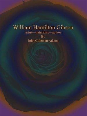 cover image of William Hamilton Gibson