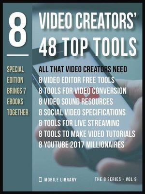 cover image of Video Creators 48 Top Tools