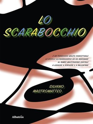 cover image of Lo scarabocchio