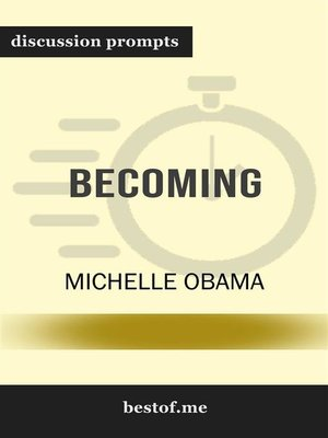 "cover image of Summary--""Becoming"" by Michelle Obama 