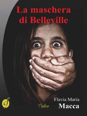 cover image of La maschera di Belleville