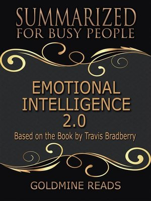 cover image of Emotional Intelligence 2.0--Summarized for Busy People