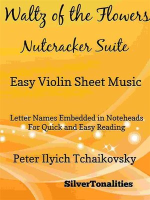 cover image of Waltz of the Flowers Nutcracker Suite Easy Violin Sheet Music