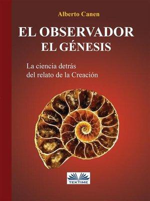 cover image of El Observador. El Genesis