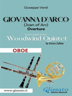 cover image of Giovanna d'Arco--Woodwind Quintet (OBOE)