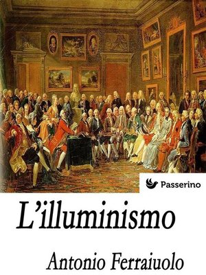cover image of L'illuminismo
