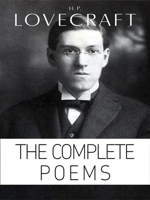 cover image of H. P. Lovecraft--The Complete Poems