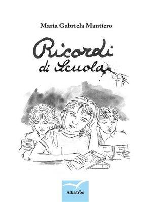 cover image of Ricordi di scuola