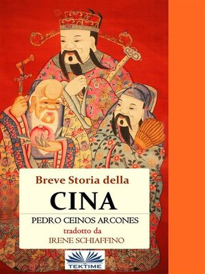 cover image of Breve Storia Della Cina
