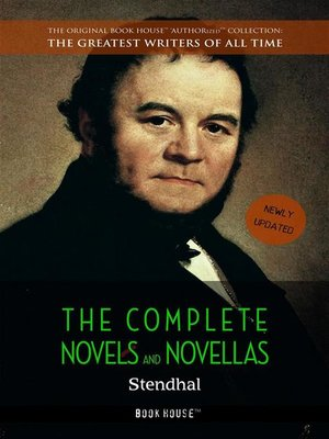 cover image of Stendhal--The Complete Novels and Novellas