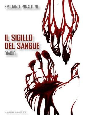 cover image of Il sigillo del sangue