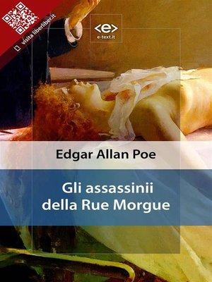 cover image of Gli assassinii della Rue Morgue