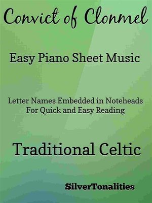 cover image of Convict of Clonmel Easy Piano Sheet Music