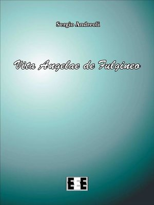 cover image of Vita Angelae de Fulgineo