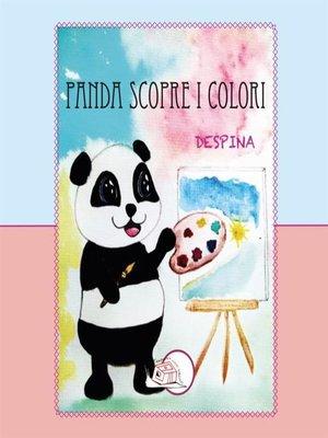 cover image of Panda scopre i colori