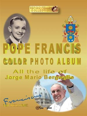 cover image of Pope Francis color photo album