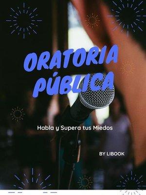 cover image of Oratoria Pública