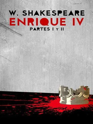 cover image of Enrique IV, partes I y II